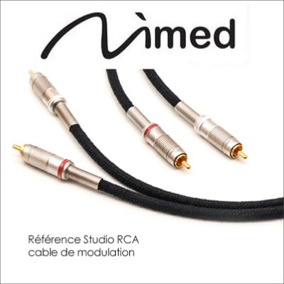 NIMED REFERENCE STUDIO CABLE MODULATION RCA