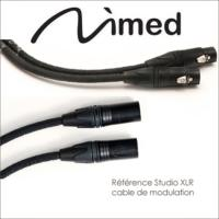 NIMED REFERENCE STUDIO CABLE MODULATION XLR